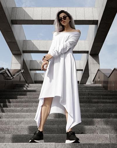 Платье Aiza white