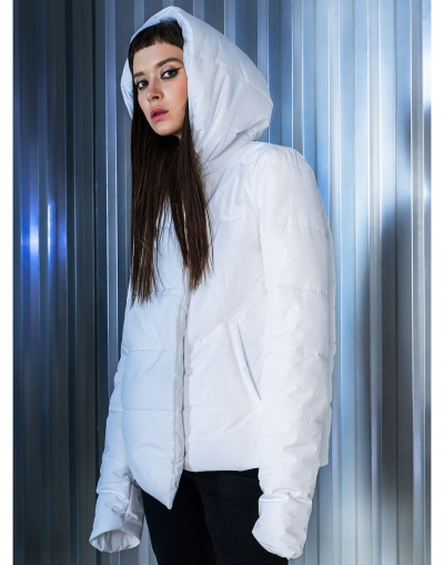 Eden white jacket