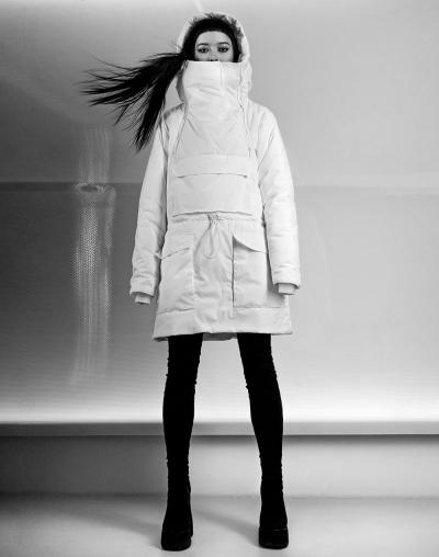 Анорак Chroma white