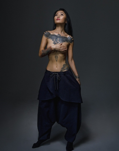 Yakuza pants from Yakutsk