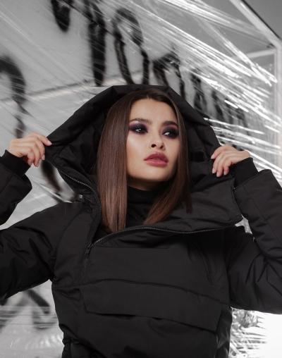 Anorak Chroma black