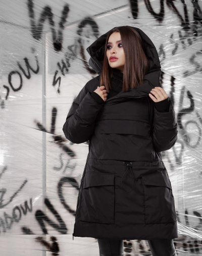 Anorak Chroma black