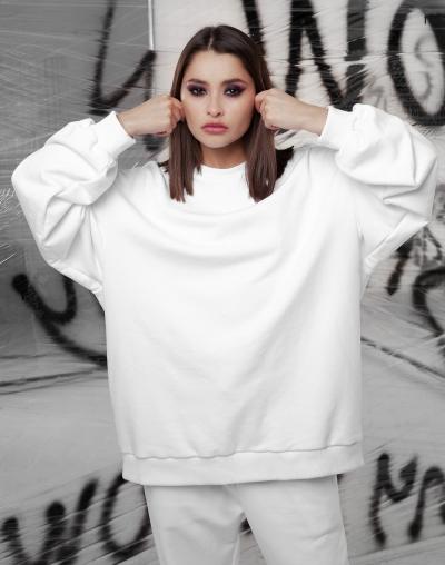 Sweatshirt 014 white