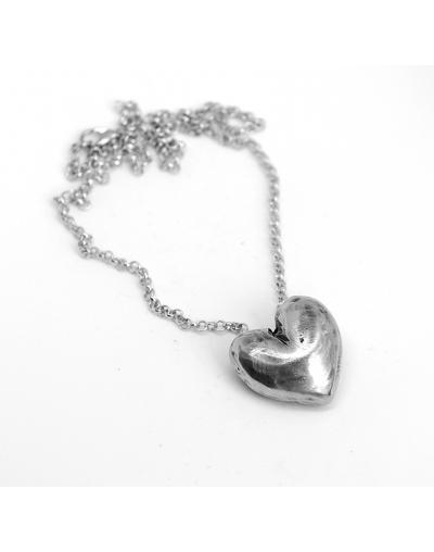 Кулон Сердце светлое