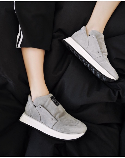 Gemini Low Sneakers Grey