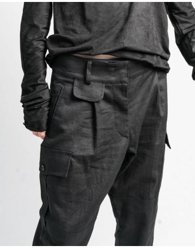 R19 linen trousers