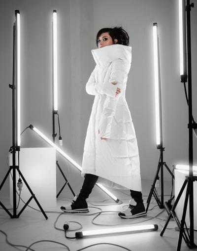 Зимнее пальто Enima white