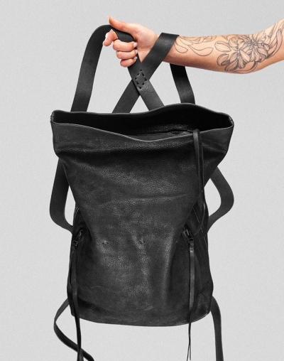 Black Sa17 Backpack