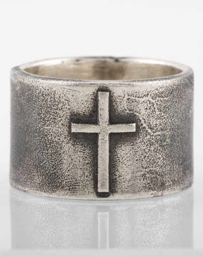 Ring with X13 cross