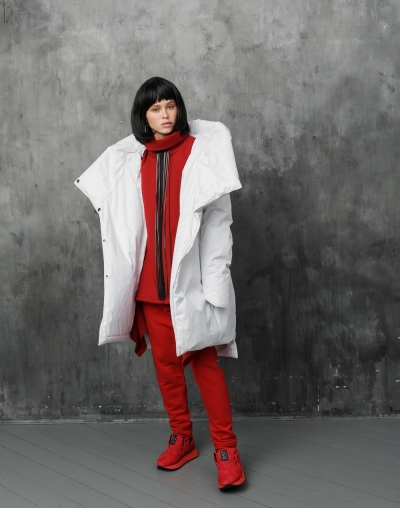 ICE20 White Winter Coat
